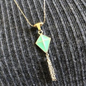 Alex and Ani adjustable-length kite necklace